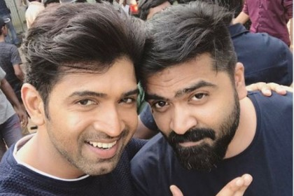 Arun Vijay's caption for his selfie with Simbu is downright cute!