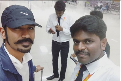 Dhanush gets clicked as he heads to Cannes Films Festival 2018