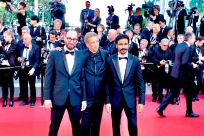 Cannes 2018: Dhanush makes a dapper appearance on the red carpet!