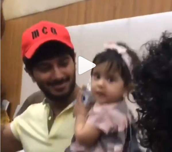 Watch: Dulquer Salmaan dancing with his daughter Maryam on Guru Randhawa's song is too cute for words