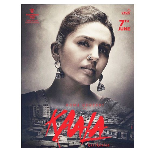 Huma Qureshi's first look as Zareena in Kaala is out and it is gripping