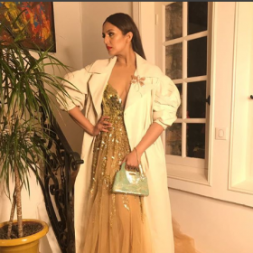 Cannes 2018: Kaala star Huma Qureshi in Manish Malhotra