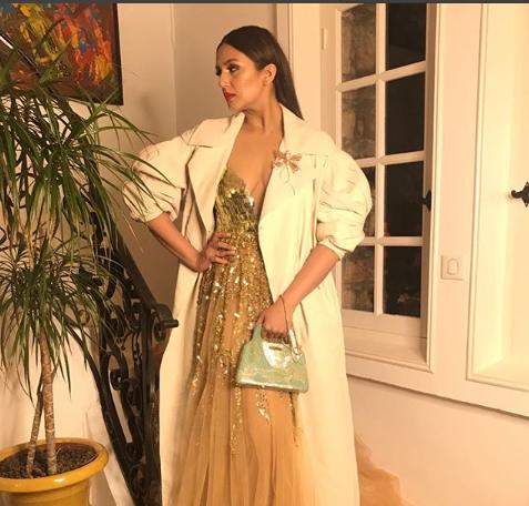Cannes 2018: Kaala star Huma Qureshi in Manish Malhotra