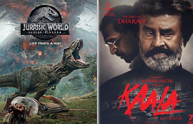 Box Office battle: Jurassic World: Fallen Kingdom to clash with Rajinikanth's Kaala on June 7