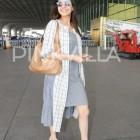 Photos: An ultra-stylish Kajal Aggarwal spotted at Mumbai airport