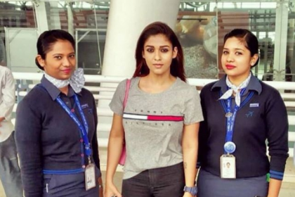 Nayanthara returns from vacation, heads to Hyderabad for the shooting of Ajith's Viswaasam
