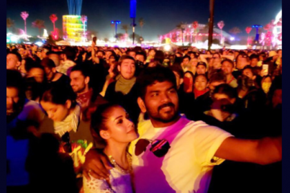 Vignesh Shivan and Nayanthara set the internet on fire with their recent pictures from USA