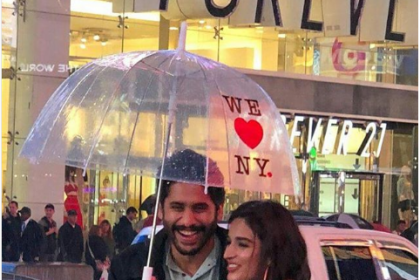 Here's a glimpse of Naga Chaitanya and Nidhhi Agerwal from a romantic song in Savyasachi