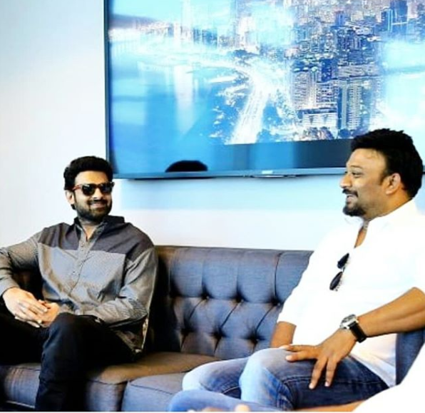 Prabhas shares his excitement as he begins shooting for Saaho in Abu Dhabi!