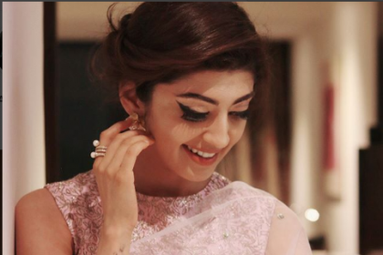Pranitha Subhash wows in a stunning saree look