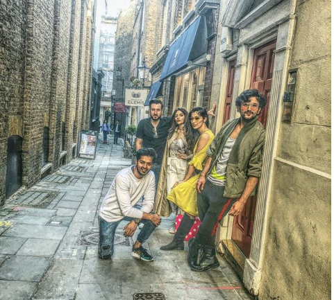 Photos: Raai Laxmi holidays with her gang in London