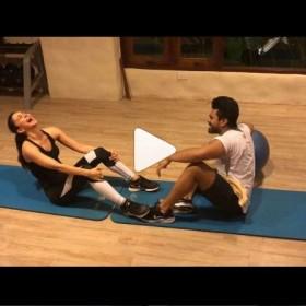 Kiara Advani and Ram Charan's workout video is going viral!
