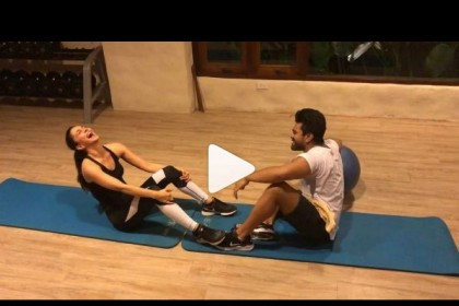 Kiara Advani and Ram Charan's workout video is going viral!