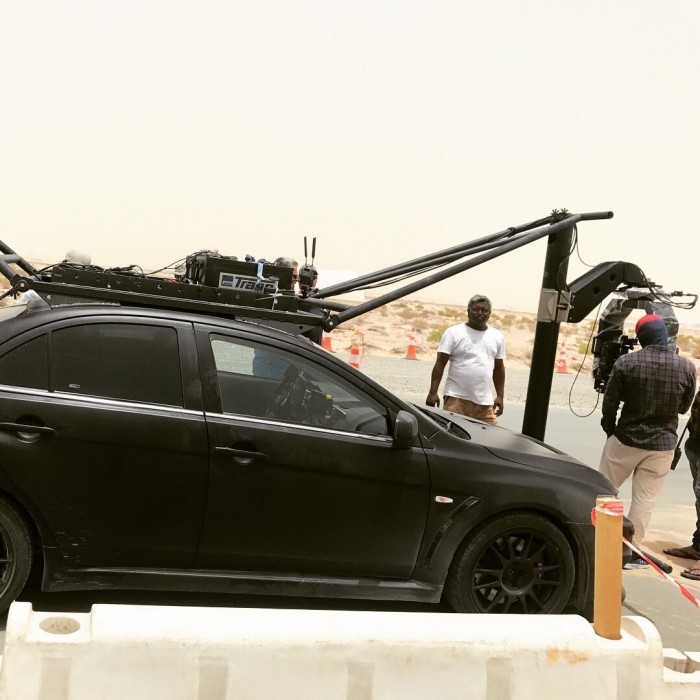 These behind the scenes photos of Saaho team shooting for an epic action sequence in Abu Dhabi will leave you
