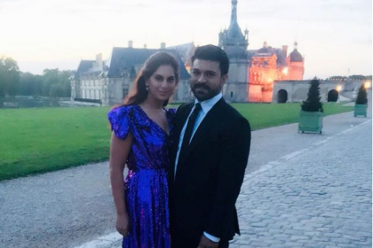 Photos: Ram Charan, Upasana and others at Shriya Bhupal-Anindith Reddy's marriage in Paris
