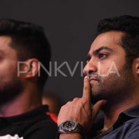 Photos: Jr NTR attends the pre-release event of Naa Nuvve starring Nandamuri Kalyanram and Tamannaah