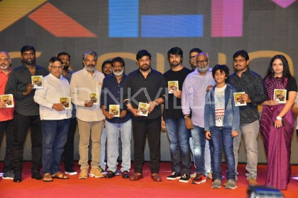 Photos: Chiranjeevi attends the audio launch of Vijetha starring his son-in-law Kalyaan Dhev