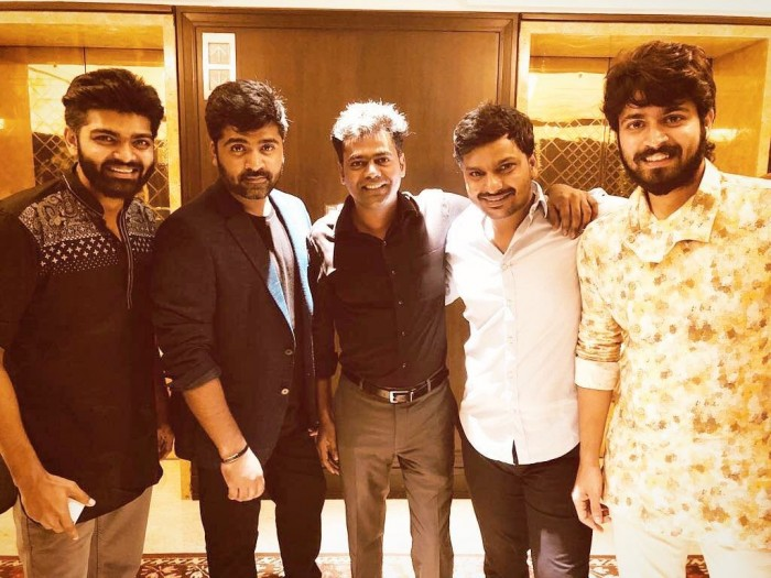 Photos: Simbu, Jayam Ravi, Sayyeshaa and many others attend the wedding reception of Arya's brother Sathya