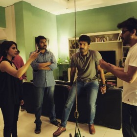 Photos: Samantha Akkineni, Aadhi Pinisetty, Rahul Ravindran and Bhumika Chawla on the sets of U-Turn remake
