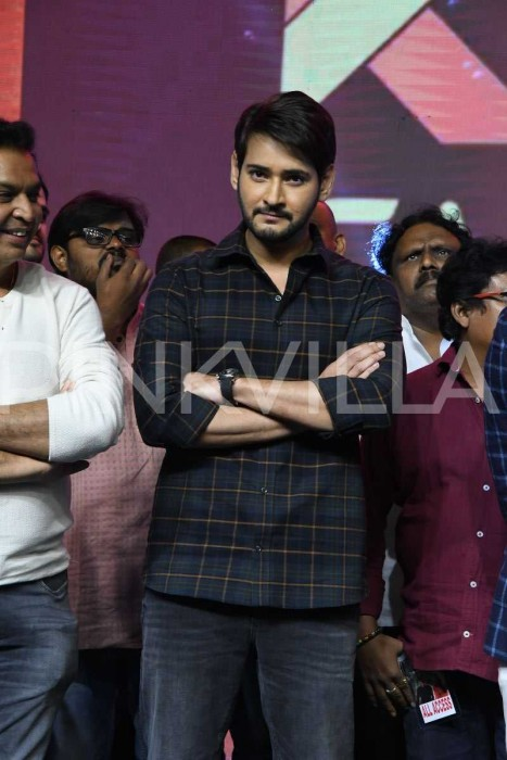 Photos: Mahesh Babu graces the pre-release event of Sammohanam starring Sudheer Babu and Aditi Rao Hydariq