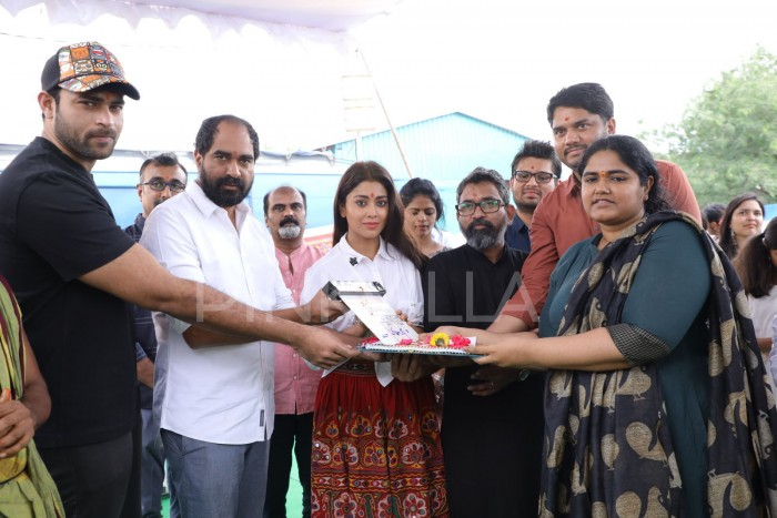 Photos: Varun Tej and Krish launch Shirya, Niharika's next film