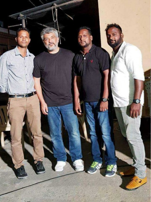 Ajith wraps up the Hyderabad schedule of his upcoming film Viswasam