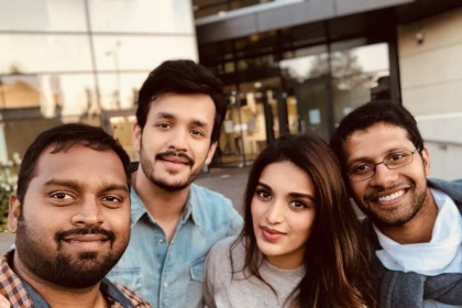 Akhil Akkineni begins shooting for his upcoming film directed by Venky Atluri