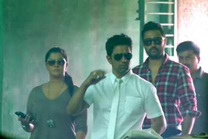 Nani unveils the trailer of Arjun Sarja's 150th film Kurukshetram