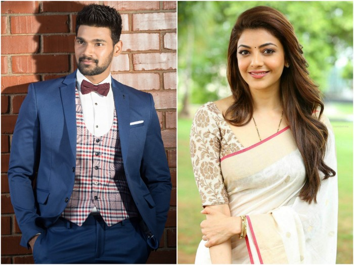 Kajal Aggarwal joins the sets of Bellamkonda Sai Sreenivas' upcoming film with Sreenivas