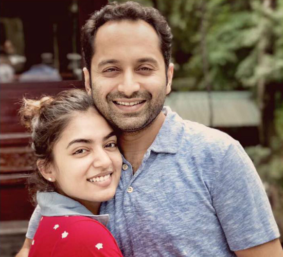 There's a lot of personal excitement for me, says Fahadh Faasil about Nazriya Nazim's comeback