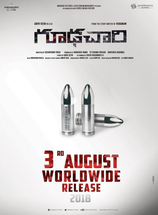 Adivi Sesh's Goodachari wraps up shoot and gears up for release in August