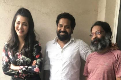 Shruti Haasan turns producer with Jayprakash Radhakrishnan's Tamil film titled The Mosquito Philosophy