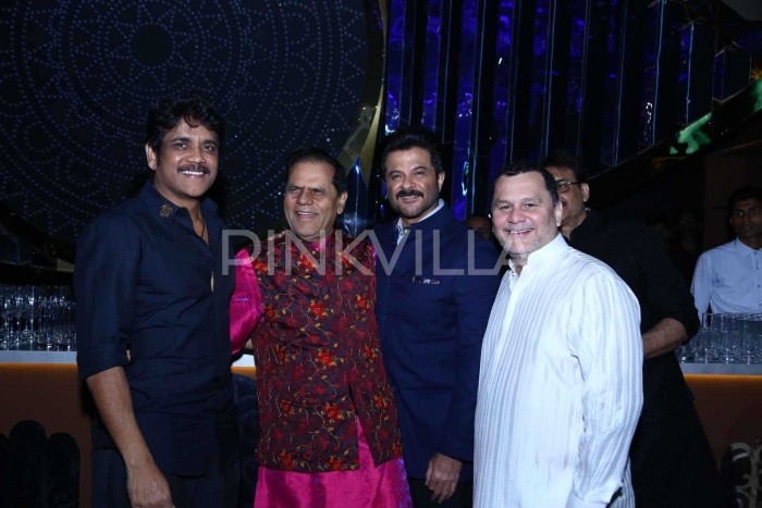 Photos: AR Rahman, Nagarjuna and many Tollywood celebs attend the engagement of T Subbirami Reddy's grandson