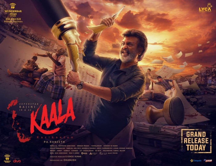 Rajinikanth's much awaited Kaala releases amidst galore of celebrations by fans