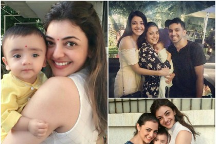 Photos: These pictures are proof that Kajal Aggarwal is a doting aunt
