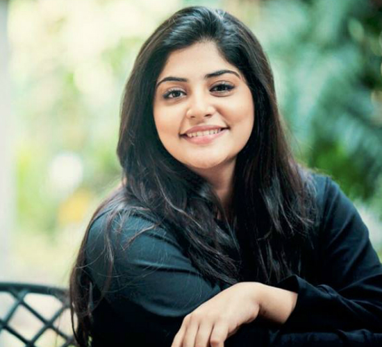 Manjima Mohan: I'm blessed to have worked with directors who were OK with how I look