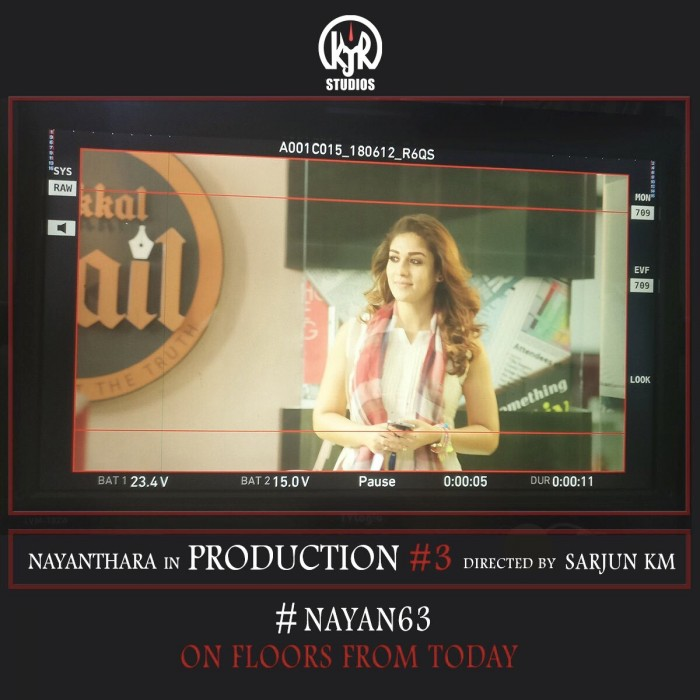 Nayanthara's upcoming film with director Sarjun goes on floor