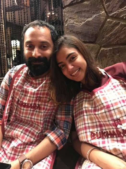 Nazriya gave up four golden years of her life to give me a home, says an excited Fahadh Faasil