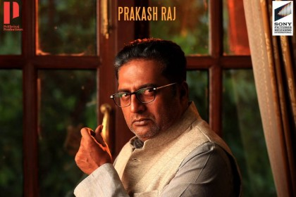 Prakash Raj's look as Dr Inayat Khan in Prithviraj Sukumaran's NINE is intriguing