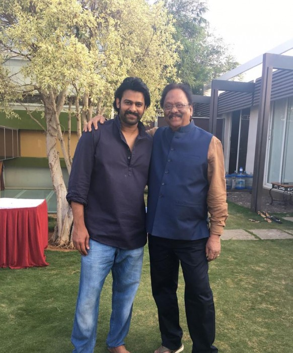 Prabhas' uncle actor-politician Krishnam Raju speaks out about the Baahubali star's marriage
