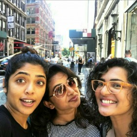 Photos: Rima Kalingal and Parvathy go out and about exploring NYC
