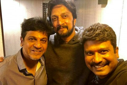This selfie of Shivarajkumar and Kichcha Sudeep is being loved by fans