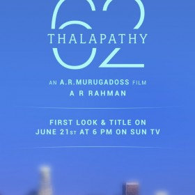 Thalapathy 62: First look and title release date of Vijay's upcoming film with AR Murugadoss announced