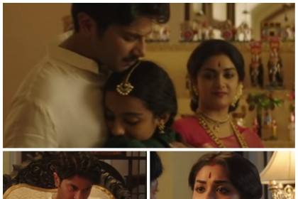 Mahanati deleted scene: Gemini Ganeshan with his 3 wives and kids in one space
