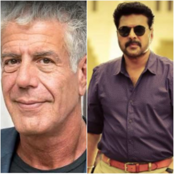 Mammootty reminisces about his meeting with Anthony Bourdain