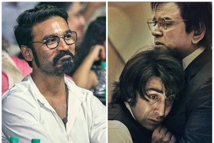 Dhanush laughed and cried while watching Ranbir Kapoor starrer Sanju biopic
