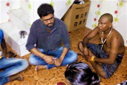 Photos: Actor Vijay visits the injured families of Tuticorin protests without much fanfare