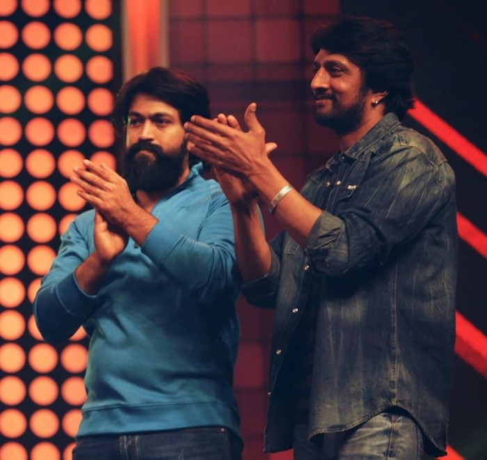Sudeep asks his fans not to target Yash and troll him for the fitness challenge video