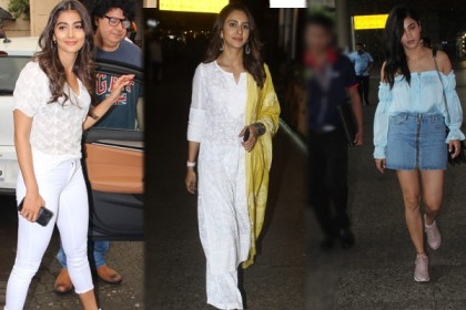 Photos: Shruti Haasan, Rakul Preet and Pooja Hegde spotted