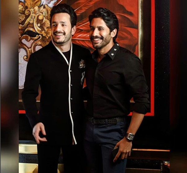 Akhil Akkineni makes a dapper appearance in Manish Malhotra
